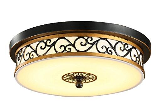 Home mall- LED Plafonnier Mode Créatif Style Européen Enfants Chambre Étude Chambre Corridor Chaleureuse Lampe (taille : 50 * 12cm)