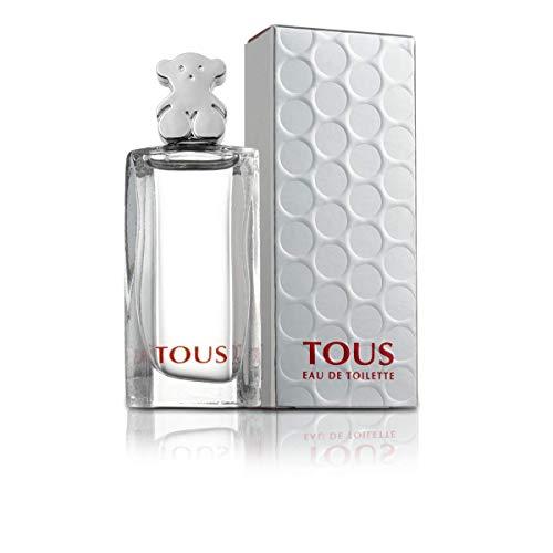 Mini perfume Tous miniatura original Eau de toilette 4,5 ml. Detalles de boda para invitados, regalos para Primera Comunión, recordatorios y recuerdos de bautizo elegantes
