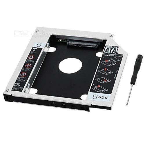 Adaptador Caddy HD SSD Sata 9.5mm Case para Gaveta de CD/DVD Notebook