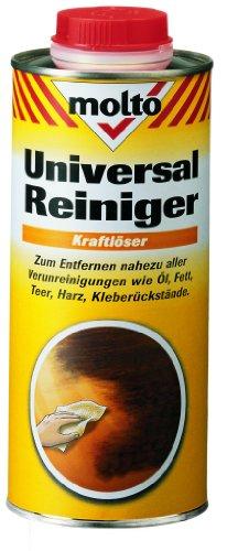 Molto Universal Reiniger 0,75L Pinsel Farbroller Werkzeug Öl Fett Teer