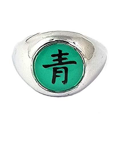 pidak shop Anillo con piedra verde agua de la Organización – Medida 20 Ã 5668 PDK281-NRT 0650414430148 Anillos Cosplay