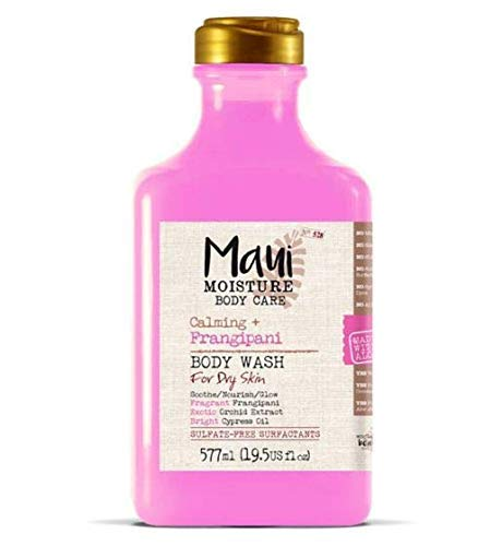 Maui Moisture Body Wash - Frangipani, 577 ml