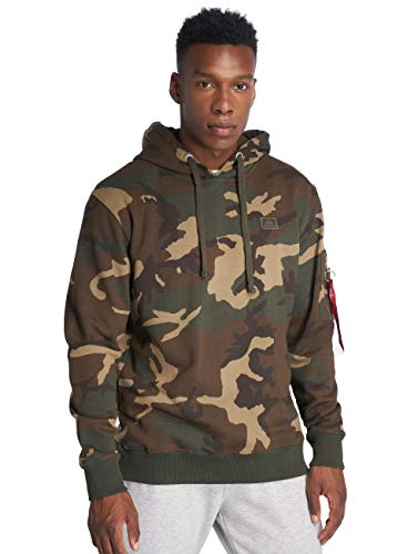 Alpha Industries X-Fit Hoodie Camouflage S