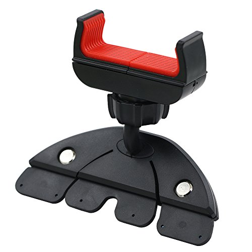 Polytree 360° Universal CD Slot Car Mount Holder Stand for Smart Phone GPS