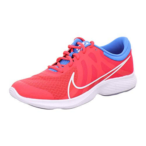 Nike Unisex Kinder Revolution 4 Disrupt (Gs) Traillaufschuhe, Rot (Red Orbit/White-Blue Hero-Indigo Haze 600), 35.5 EU