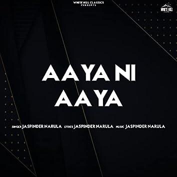 Aaya Ni Aaya