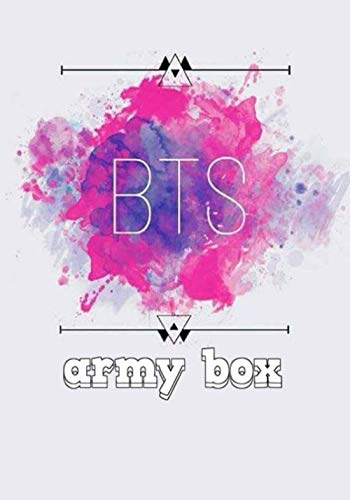bts army box: BTS Notebook: Kpop notebooks | Kpop journal | BTS fans | ARMY fandom | Perfect for the BTS Fan