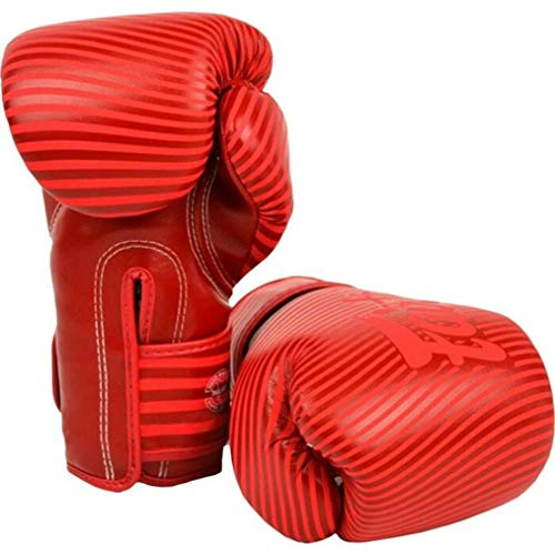 Fairtex Boxing Gloves BGV-14 Red - Muay Thai Kickboxing MMA Training Boxing Equipment Gear for Martial Art-12oz Guantone da Box Guantoni