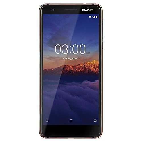 Nokia 3.1 – 16 GB – Smartphone Desbloqueado (AT&T/T-Mobile) – Pantalla de 5,2″, Azul