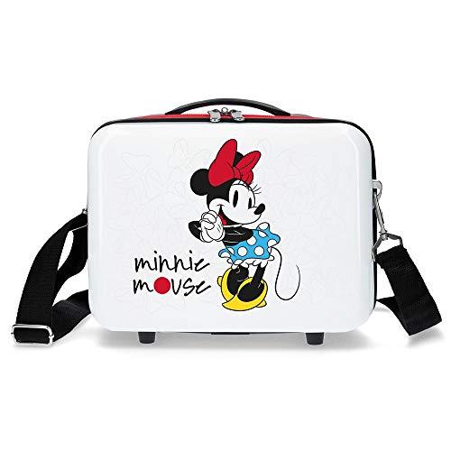 Disney Minnie Magic Trousse de toilette adaptable Blanc 29x21x15 cms ABS
