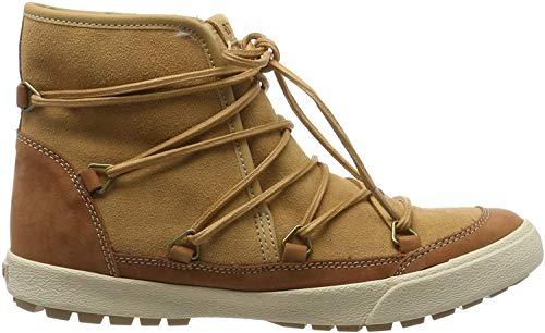 Roxy (ROY11) Darwin-Winter Boots for Women, Stivali Arricciati Donna, Camel Cam, 42 EU