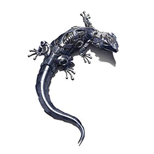 Ndier 1 Blatt Creative Mechanical Gecko 3D Effekt Auto Aufkleber Personalized Selbstklebende Auto Reflektierende Aufkleber Style 1 Autozubehör