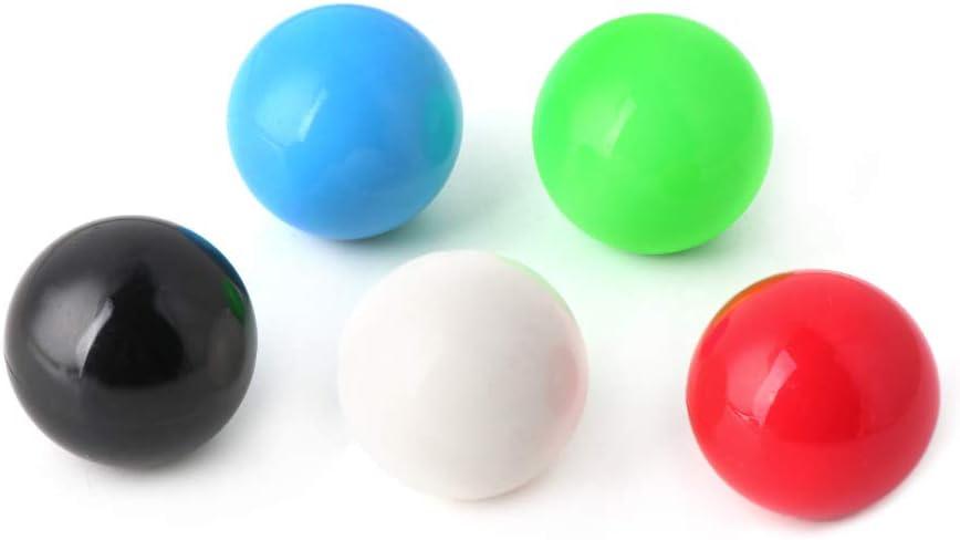 1 Pieza de Bola Superior con Mango de 35 mm para Joystick Sanwa//Zippy Piezas de m/áquina de Juego de Arcade DIY WT-DDJJK Cabezal de Bola basculante
