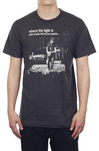 John Mayer Live Concert New Black Unisex Music T-Shirt Size M