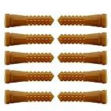 YARNOW 10 Pcs Poulet Plucker Volaille Plucker Forage Accessoire Canard Plucker Pièces de Rechange 2 Cm