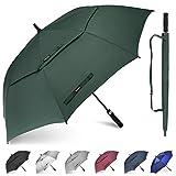 Gonex Paraguas de Golf Resistente al Viento para Hombres y Mujeres,...