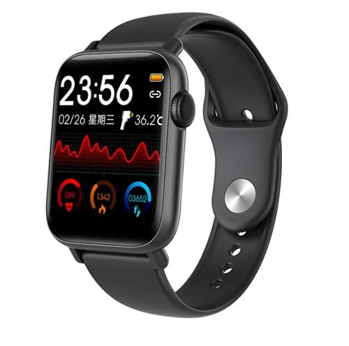 Pulsera inteligente, monitoreo de temperatura, reloj inteligente podómetro de ejercicio completo