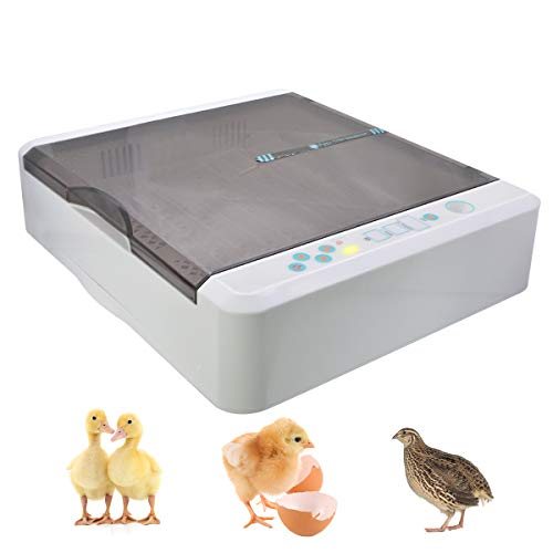 56 Automatic Eggs Incubator for Chicken Quail Turkey by Hen Express Canada