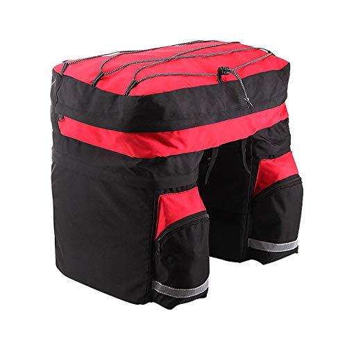 Fietstas / bagagetas / fietstas voor reizen, lang, 60 l, met tegenpunt, dubbel frame, voor mountainbike, racefiets