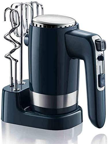 GHJA 300W 10-Gang-Elektro-Handmixer Elektro-Schneebesen Kuchen Incream Brotteig-Mixer Mixer Backen für Küchengeräte mit 2X Teighaken & Ballon-Schneebesen