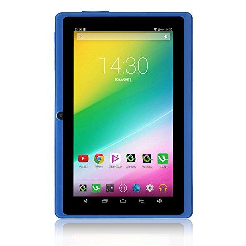 iRULU eXpro 1 Tablet PC (X1), Android 4.4 KitKat, Quad-Core, 16 GB ROM, 7 Zoll mit Auflösung 1024 * 600, blau