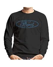 Ford Mustang Neon Logo Sweatshirt voor heren