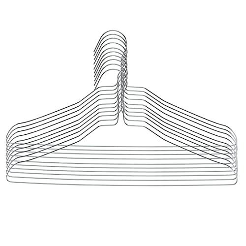 Rampi Grucce in Ferro zincato 40 cm Appendiabiti Appendini Salvaspazio per Organizzazione Armadio Lavanderia (100)