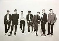 【公式ポスター】iKON (アイコン) - NEW KIDS : THE FINAL OFFICIAL POSTER (Double-side) ポスター専用ケース 72.5cm x 51.5cm