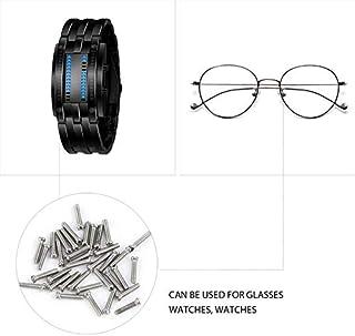 Caso di viti per orologi - Commercio all'ingrosso 1 confezione da 1000 pezzi Viti Kit di riparazione Strumento Piccolo ass...