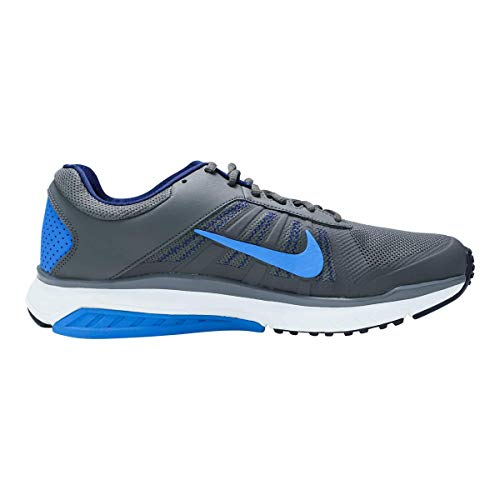 Nike Men's Dart 12 MSL Dark Grey/Photo Blue Ankle-High Running - 8.5M