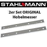 2er Set ORIGINAL Hobelmesser für STAHLMANN Hobelmaschine