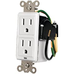 Provides power protection Mounts behind electronic equipment CSA Certified for code compliant installations
