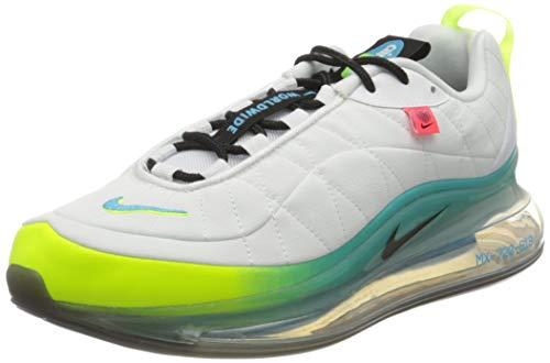 Nike MX-720-818 WW, Zapatillas para Correr Hombre, White Black Blue Fury Volt...