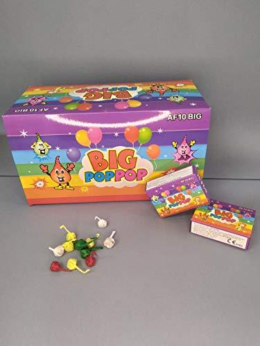 art fireworks allevi Pop Pop Big 100 Pezzi petardino da Ballo Grande (5 scatole da 20 Pezzi) Giochi pirici
