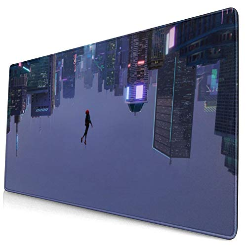 SPI-der-Man Gaming Mouse Pad - 15.8x29.5x0.1 inch Large Size Non-Slip Desk Pad, Innovera No Wrinkle Desk Mouse Mat, Writing Pad Designed for Working&Console