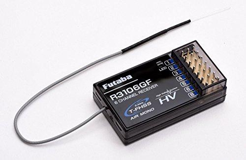 Futaba R3106GF 6-Channel Receiver - T-FHSS Air Mono HV (P-R3106GF)