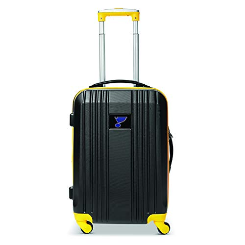 Great Features Of Denco NHL Buffalo Sabres Round-Tripper Two-Tone Hardcase Luggage Spinner