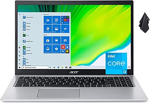 2021 Newest Acer Aspire 5 Slim Laptop, 15.6' FHD LED Display, 11th Gen Intel Core i3-1115G4 Processor, 8 GB DDR4 RAM, 256 GB SSD, WiFi 6, Amazon Alexa, Windows10 Home (Latest Model)