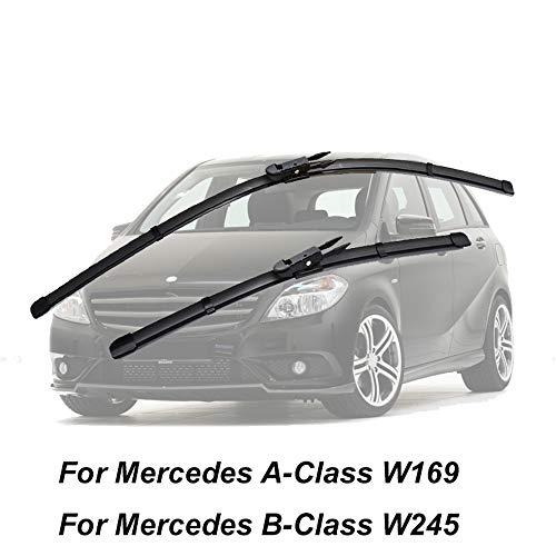 HZHAOWEI 2 STUKS Ruitenwisser, Voor Mercedes A-Klasse A150 A170 A200 A180 A160 W169 W169 B-Klasse W245 B160 B180 B200 B170 B55