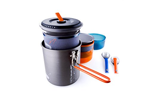GSI Outdoors Halulite MicroDualist Outdoor Cook Set