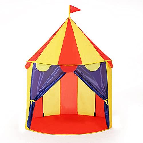 VRQG Tienda de Juegos para niños, Niños Play Tent, Parque Infantil Interior al Aire Libre Juego Juguete Juguete Hut Easy Fold Playhouse, Toy Play Tent/Playhouse