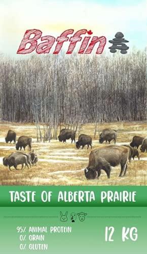 Baffin Taste of Alberta Prairie, Pienso para Perros, Multiproteinas, 3 kg