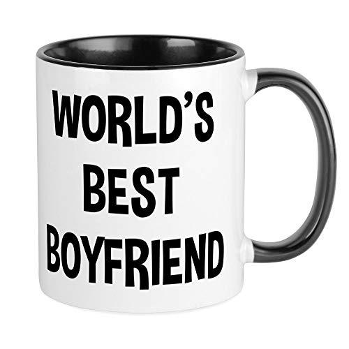 CafePress - World's Best Boyfriend - Unique Coffee Mug, Coffee Cup, Tea Cup