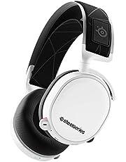 SteelSeries Arctis 7 - Casque de Jeu sans Fil et sans Perte - Son Surround DTS Headphone:X v2.0 pour PC et PlayStation 4 - Blanc