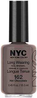 (3 Pack) NYC Long Wearing Nail Enamel - Hot Cholate (並行輸入品)