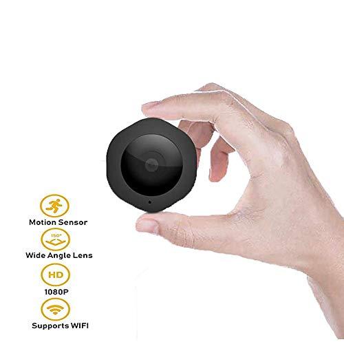 SMX Mini Wireless Hidden Spy Camera, Full HD 1080P HD met nachtzicht, video-opname en bewegingsdetectie voor thuis, auto, drone, kantoor en buiten