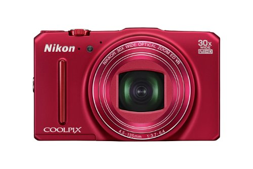 Nikon デジタルカメラ S9700 光学30倍 1605万画素 ヴェルヴェットレッド S9700RD