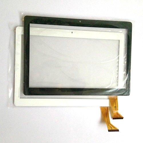Blanco EUTOPING ® De Nuevo 10.1 Pulgadas Reemplazar Pantalla tactil Digital para 10.1