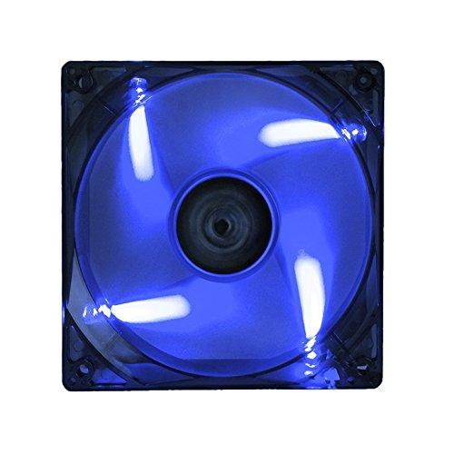 ITEK Ventola per case Xtreme Flow - 12cm, LED Blu, 3+4pin, silenziosa