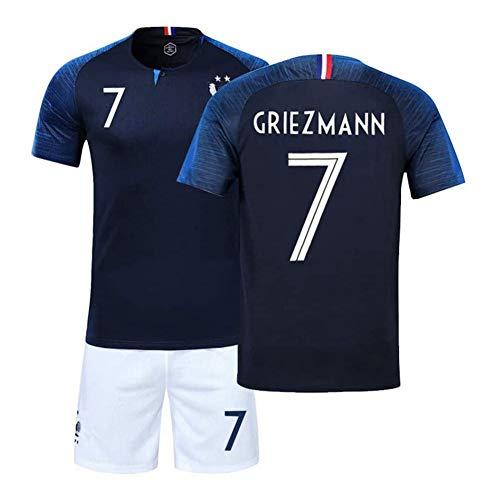 COOLBOY Fußball-T-Shirt Griezmann 7# Atletico Madrid Trikot Herren 2018-2019 Home,26